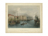 The Quay, Yarmouth Prints by William Henry Bartlett
