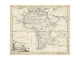 Map of Africa Print by T. Jeffreys