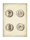 Antique Roman Coins VI Posters