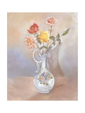 Vase of Roses Posters by Judy Mastrangelo