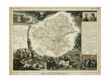 Atlas Nationale Illustre III Art by Victor Levasseur