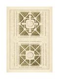 Garden Maze IV Kunstdrucke von Jacques-francois Blondel