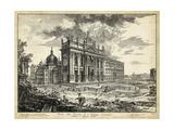 Veduta Basilica S. Giovanni Laterano Posters by  Piranesi