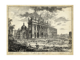 Veduta Basilica S. Giovanni Laterano Giclee Print by  Piranesi