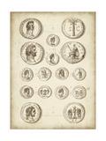 Antique Roman Coins IV Posters