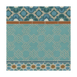 Moroccan Tile II Prints by Erica J. Vess