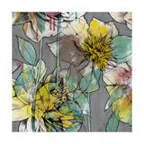 Graffiti Flowers II Pôsters por Jennifer Goldberger