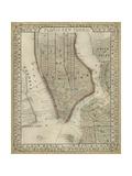 Plan of New York Plakaty autor Mitchell