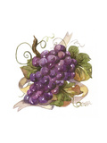 Watercolor Grapes I Giclée-Premiumdruck von Jerianne Van Dijk