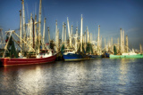 Ua Ch Shrimp Boats II Photographic Print by Danny Head