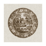 Sepia Transferware I Prints by  Vision Studio