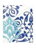 Exotic Indigo II Premium Giclee Print by Erica J. Vess