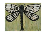 Dragonfly Text II Plakater af Lisa Choate