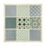 Pattern Patch II Kunstdrucke von  Vision Studio