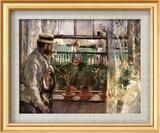 Eugene Manet Plakater af Berthe Morisot