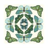 Butterfly Tile II Prints by Erica J. Vess