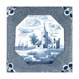 Delft Tile II Prints by  Vision Studio