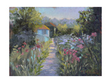 Monet's Garden V Prints by Mary Jean Weber