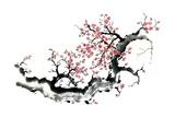 Plum Blossom Branch III Plakater af Nan Rae