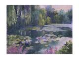 Monet's Garden II Prints by Mary Jean Weber