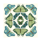 Butterfly Tile IV Art by Erica J. Vess
