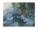 Monet's Garden VII Prints by Mary Jean Weber
