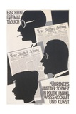 Poster for Swiss Newspaper Giclee Print