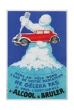 French Advertisement for Anti-Freeze Giclee Print