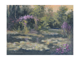 Monet's Garden IV Print by Mary Jean Weber