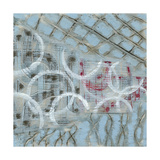 Linked Layers I Reproduction giclée Premium par Karen Deans