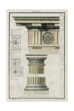 The Doric Order Prints by  Richardson