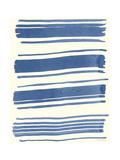 Macrame Blue III Posters by Vanna Lam