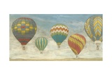 Up in the Air Panorama Premium Giclee Print by Megan Meagher
