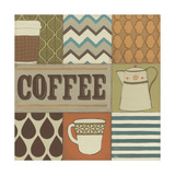 Coffee Collage Prints by Erica J. Vess