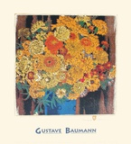 Marigolds Prints by Gustave Baumann