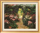 Welcome to My Garden Print by Greg Singley