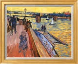 Vincent van Gogh - The Bridge at Trinquetaille Reprodukce