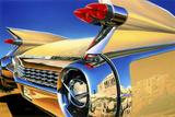 '59 El Dorado Athens Giclee-tryk i høj kvalitet af Graham Reynolds