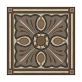 Piazza Tile in Brown I Poster by Erica J. Vess