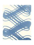 Macrame Blue I Prints by Vanna Lam