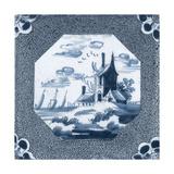 Delft Tile I Poster by  Vision Studio