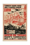 Poster for Soviet Armaments Industry Giclee Print