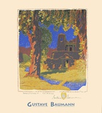 Santuario Chimayo Posters by Gustave Baumann