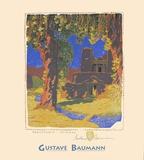 Santuario Chimayo Print by Gustave Baumann