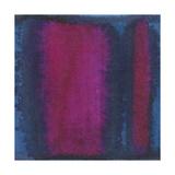 Renee W. Stramel - Indigo Meditation I Umění