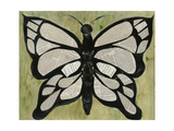 Butterfly Text I Plakat af Lisa Choate