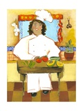 Jolly Mexican Chef Premium Giclee Print by Kris Taylor