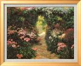Welcome to My Garden Kunst af Greg Singley