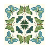 Butterfly Tile I Posters by Erica J. Vess