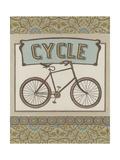 Cycle Print by Erica J. Vess